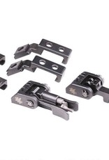 Griffin Griffin Armament M2 Sight Deployment Kit AR-15 A2 Compatible Modular Sights 17-4 Ordnance Steel Black