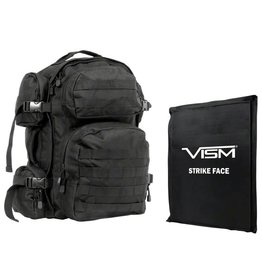 """NcStar 2911 Backpack with 10""""X12"""" Soft Panel Black"""