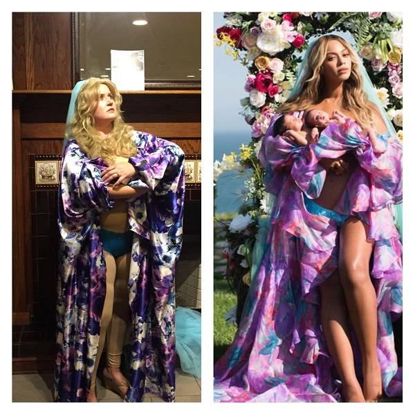 Me + Halloween = Beyonce