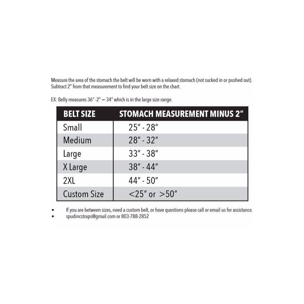 Men's Deadlift Belt 2-ply