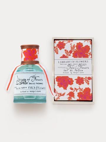 Library of Flowers Field & Flowers Eau de Parfum