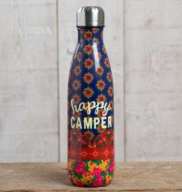 "Natural Life ""Happy Camper"" Double Wall Water Bottle"