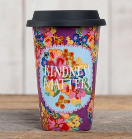 "Natural Life Thermal Mug with ""Kindness Matters"""