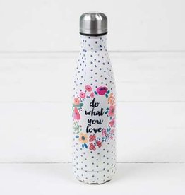 "Natural Life ""Do What You Love"" Double Wall Water Bottle"