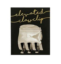 Kitsch XL Claw Clip Silver