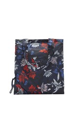 Joules French Navy Fay Floral Shopper Bag