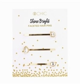 Two's Company Crystal Hair Pin Set 29791-20