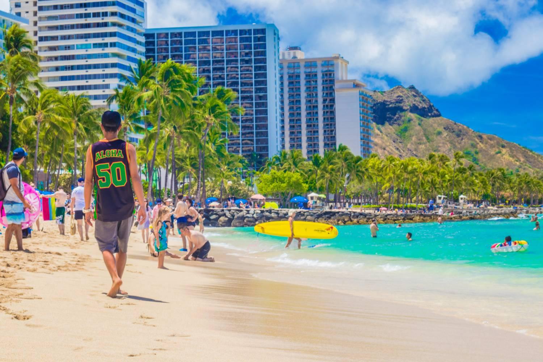Waikiki Beach Boy Life
