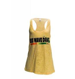 Big Wave Dave BWD Happy Burnout Woman Tank