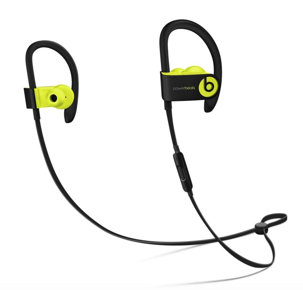 Apple Powerbeats3 Wireless Earphones - Shock Yellow