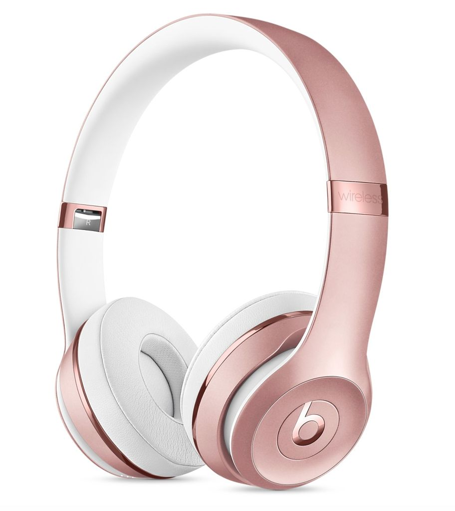 Apple Beats Solo3 Wireless Headphones - Rose Gold