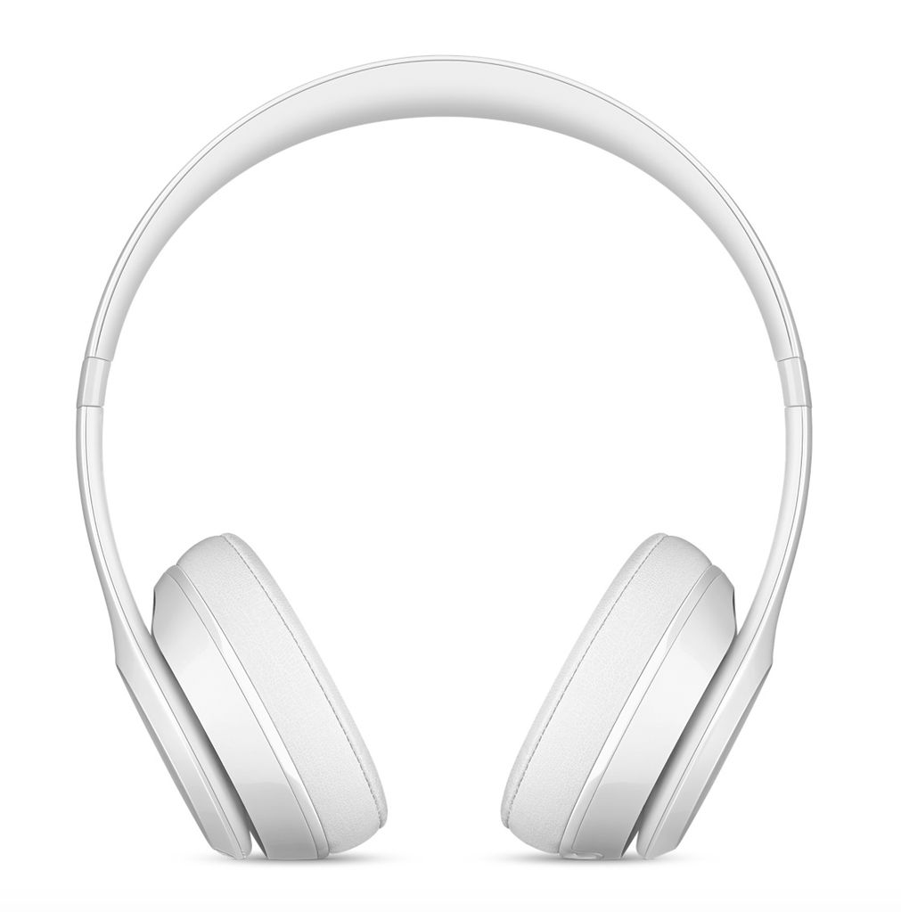 Apple Beats Solo3 Wireless Headphones - Gloss White