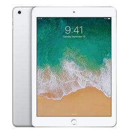 "Apple 9.7"" iPad - WiFi + Cellular - 5th Gen - 32 GB - Silver"
