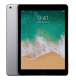 "Apple 9.7"" iPad - WiFi + Cellular - 5th Gen - 128 GB  - Space Gray"