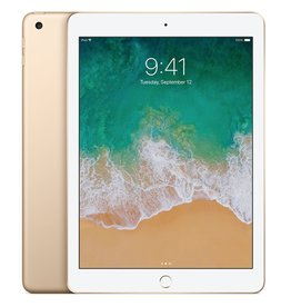"Apple 9.7"" iPad - WiFi + Cellular - 5th Gen - 128 GB - Gold"