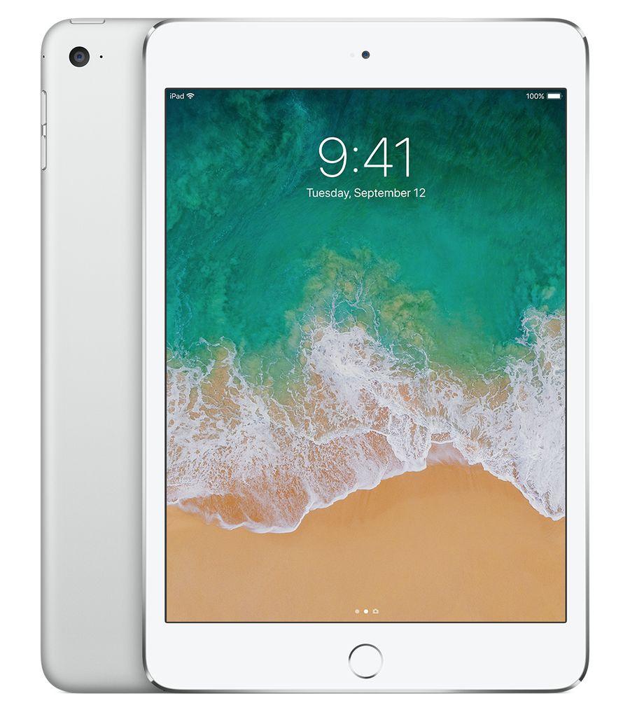 """Apple 7.9"""" iPad Mini 4 WiFi 128 GB 7th Gen (Silver)"""