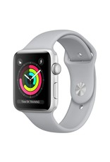 Apple Apple Watch Series 3 - GPS - 42mm - Silver Aluminum Case with Fog Sports Band