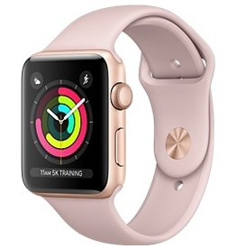 Apple AppleWatch Series 3 42mm Gold