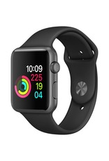 Apple Apple Watch Series 3 - GPS - 42mm - Space Gray Aluminum Case  with Space Gray Sports Band