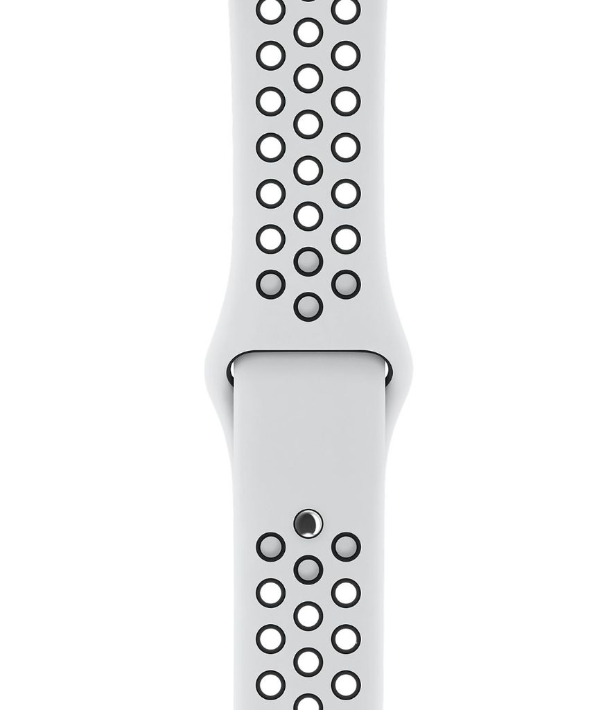 Apple Apple Watch Nike+ -GPS + Cellular - 38mm -  Silver Aluminum Case with Pure Platinum/Black Nike Sport Band