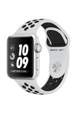 Apple AppleWatch Nike+GPS 42mm Silver Aluminum Case w/ Pure Platinum/Black Nike Sports Band