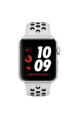 Apple Apple Watch Nike+ - GPS - 42mm - Silver Aluminum Case with Pure Platinum/Black Nike Sport Band