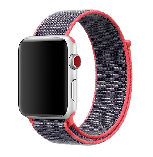 Apple 42mm electric pink sport loop