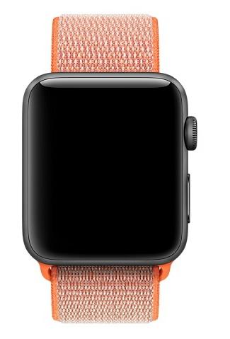 Apple 42mm spicy orange sport loop