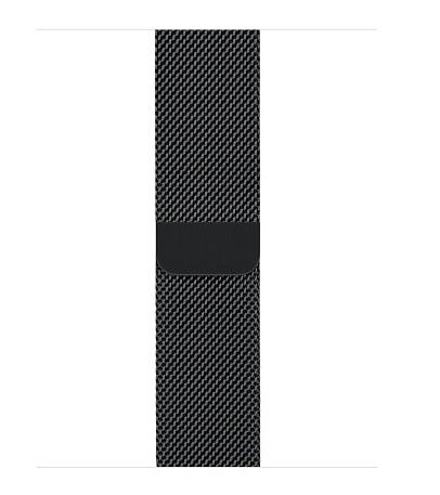 Apple Space Black Milanese Loop - 38mm