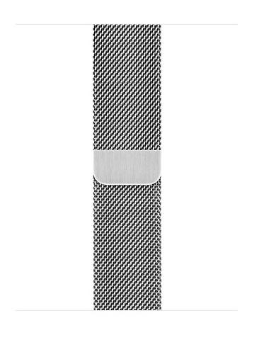 Apple 38mm Silver milanese loop