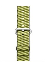 Apple 38mm Dark Olive check woven nylon