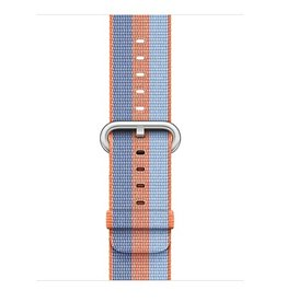 Apple Orange Stripe Woven Nylon - 38mm