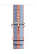 Apple Orange Stripe Woven Nylon - 42mm