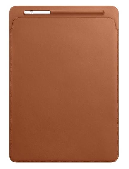 Apple iPad Pro 12.9 Leather Sleeve - Saddle Brown