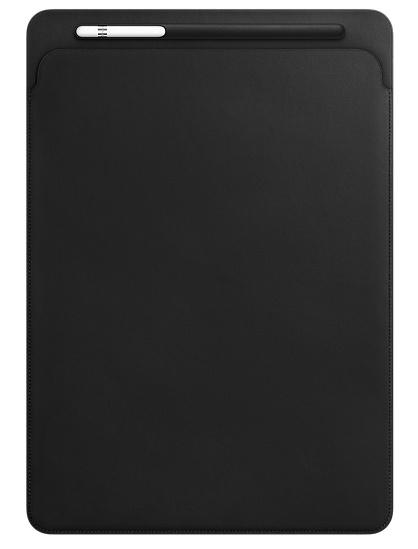 Apple iPad Pro 12.9 Leather Sleeve - Black