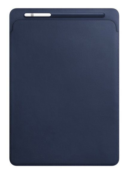 Apple iPad Pro 12.9 Leather Sleeve - Midnight Blue
