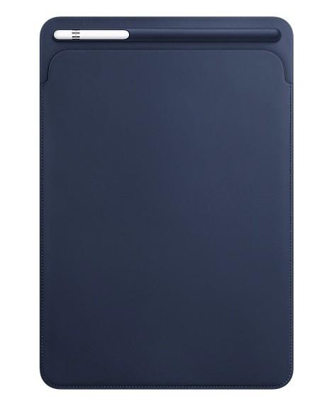 Apple iPad Pro 10.5 Leather Sleeve - Midnight Blue