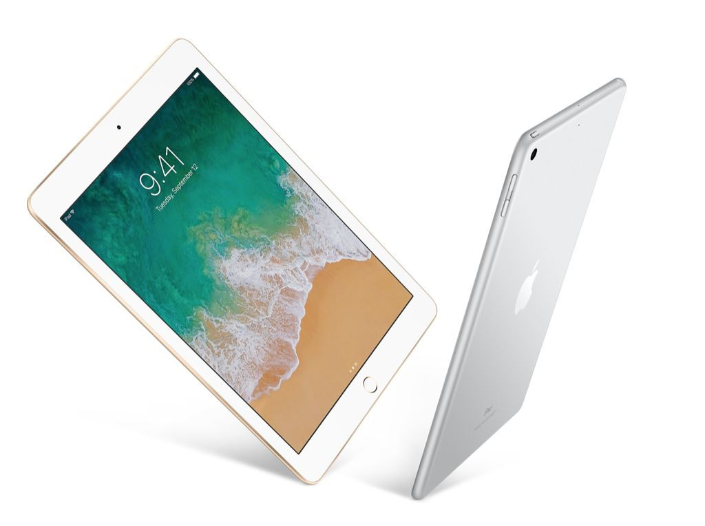 """Apple 9.7"""" iPad - WiFi + Cellular - 5th Gen - 32 GB - Silver"""