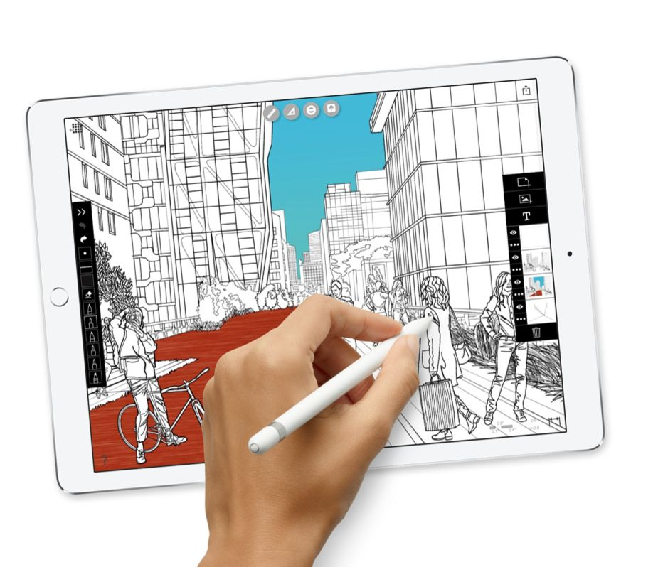 "Apple 12.9"" iPad Pro WiFi 64 GB 7th Gen (Space Gray)"
