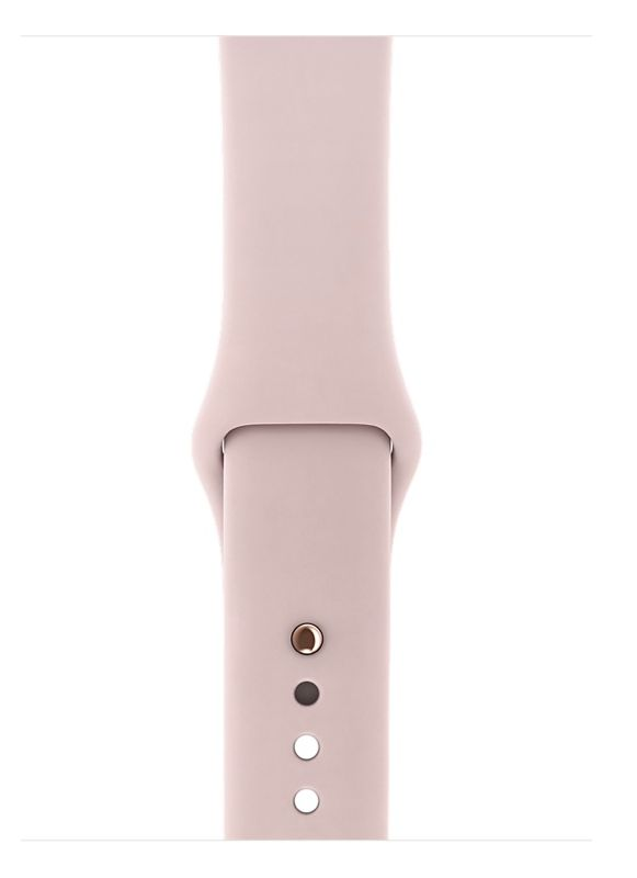 Apple Apple Watch Series 3 - GPS + Cellular - 42mm - Gold Aluminum Case with Pink Sand Sport Band