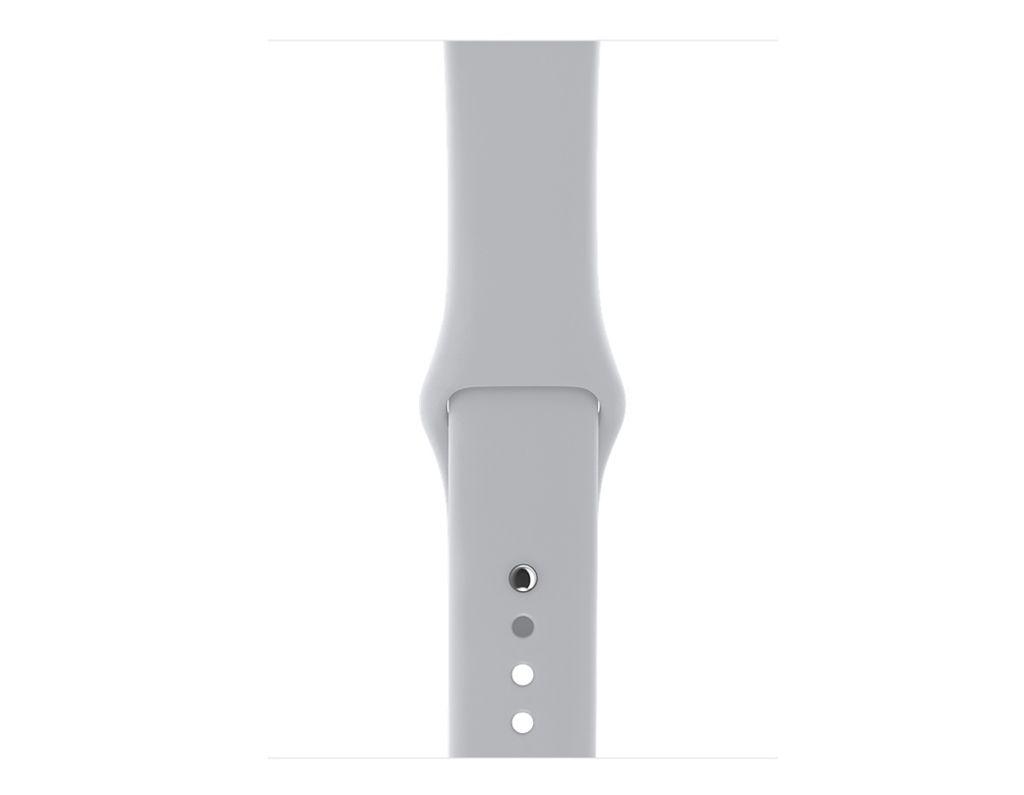 Apple AppleWatch Series 3 GPS+Cellular 38mm Silver Aluminum Case w/ Fog Band