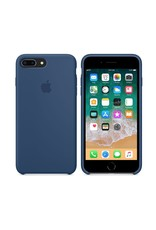 Apple iPhone 8 Plus/7 Plus Silicone Case - Blue Cobalt