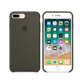 Apple iPhone 8 Plus/7 Plus Silicone Case - Dark Olive