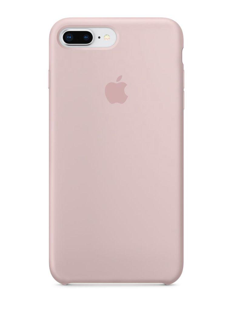 Apple iPhone 8 Plus/7 Plus Silicone Case - Pink Sand