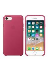Apple iPhone 8/7 Leather Case - Pink Fushia