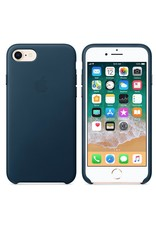 Apple iPhone 8/7 Leather Case - Cosmos Blue