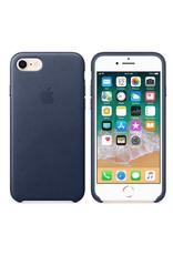 Apple iPhone 8/7 Leather Case - Midnight Blue