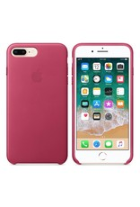 Apple iPhone 8 Plus/7 Plus Leather Case - Pink Fushia