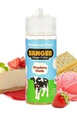 Banger Creamy E-Juice STRAWBERRY CHUNKS by Banger