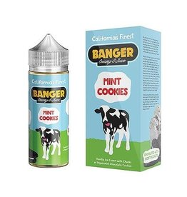 Banger Creamy E-Juice MINT COOKIES by Banger